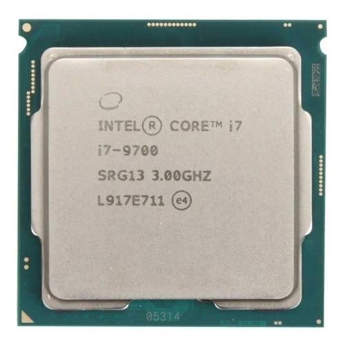 Processador Gamer Intel Core I7-9700 Bxc80684i79700 De 8 Núcleos E 3ghz De Frequência Com Gráfica Integrada