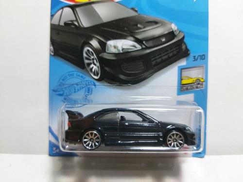Honda Civic Si Factory Fresh 3/10 Hot Wheels 2021 Gtc63