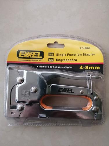 Engrapadora Grapadora Tapicería 4-8 Mm Profesional Exxel