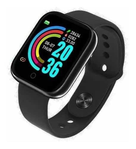 Smartwatch D20 Preto Bluetooth