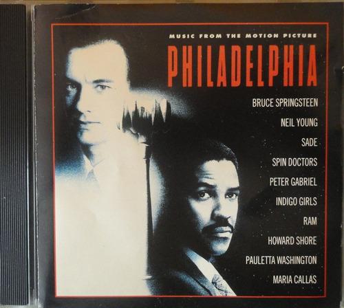 Cd Trilha Filme Philadelphia - Usado Original
