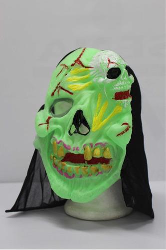 Mascara De Zoombie En Latex