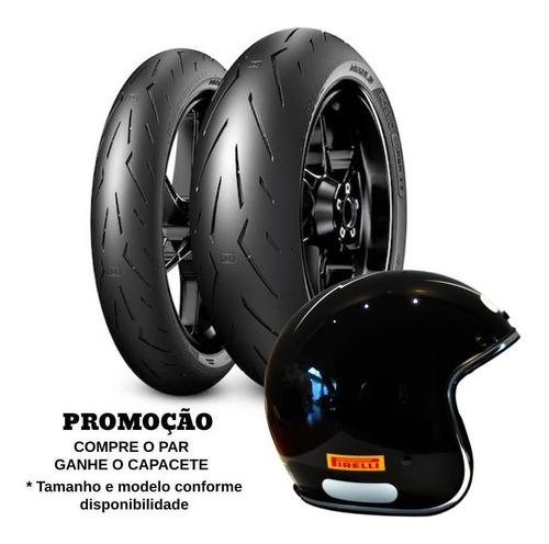 Par Pneus Pirelli Corsa 2 120/70-17+180/55-17 Gsx-r 750