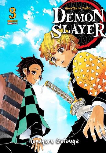 Demon Slayer Kimetsu No Yaiba, Mangá Todos Volumes