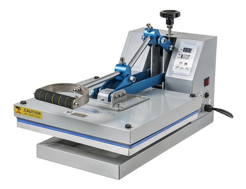 Estampadora Sublimadora Manual Printgate Est-07  Azul Y Plata 220v