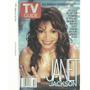 Tv Guide: Janet Jackson / Capa E Materia De 2001 / Usada