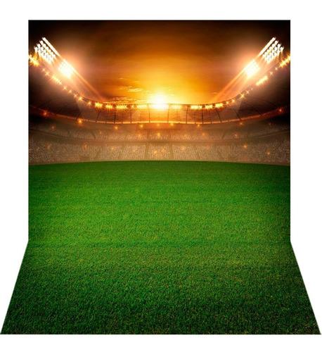 Fundo Fotográfico Tecido Newborn Futebol 1, 7x2, 6m Ffb 272