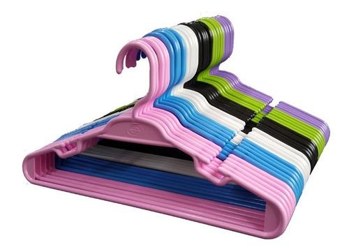 Cabide Infantil Colorido - 30 Unidades