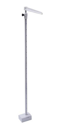 Estadiômetro Welmy Fixo De Parede 2m Alumínio Branco