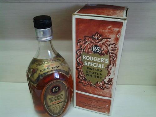 Whisky Rodger's Special Com Embalagem- Escócia 750 Ml