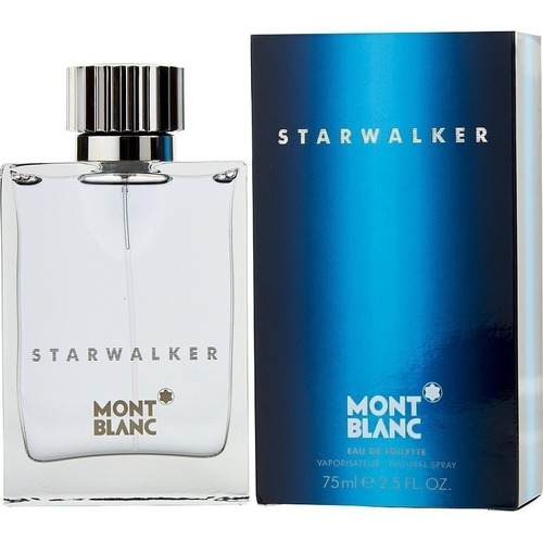 Perfume Mont Blanc Starwalker Original - mL a $1735