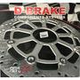 Disco Freio Dianteiro Ventilado R3 Mt 03 320cc D brake 370