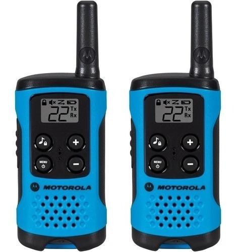 Rádio Comunicador Motorola Talkabout T100mc 25 Quilômetros