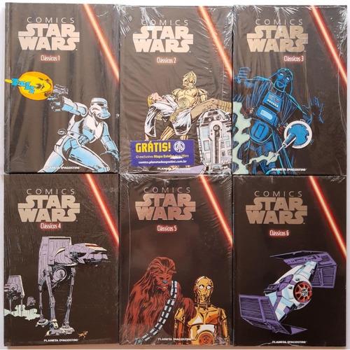 Star Wars Classic Series Coleção 12 Volumes Lacrado