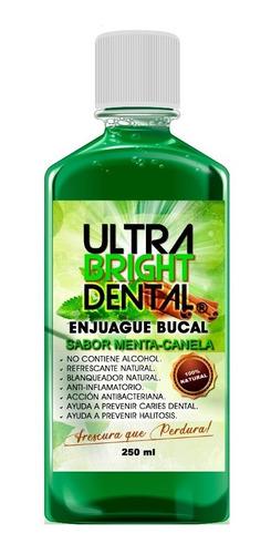 Ultra Bright Dental - Enjuague Bucal 100% Natural