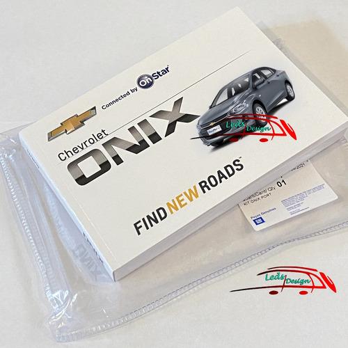 Manual Proprietário Original Novo Onix Plus 2020 2021 2022