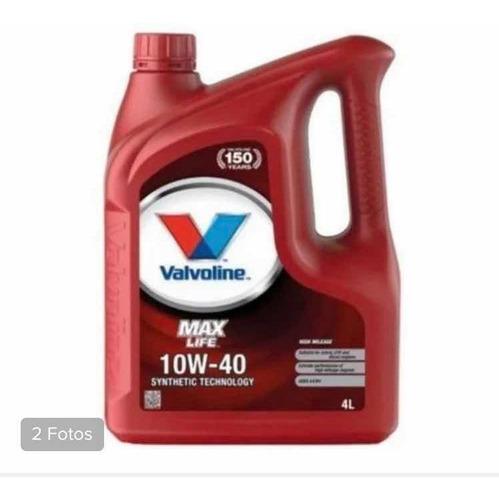 Valvoline 10w40 Semisintetico Excelente Producto X 4 Litros