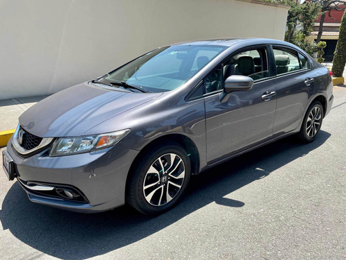 Honda Civic 1.8 Ex-l Sedan L4 Man. Mt 2014