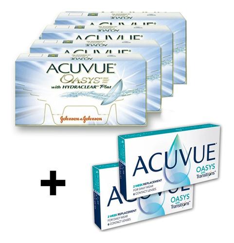 Lente De Contato  Acuvue Oasys 4 + 2 Transition