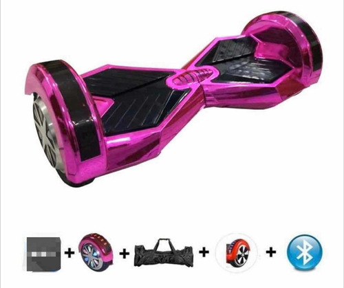 Hoverboard Skate Elétrico 8,0 Led Bluetooth