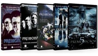 Coleção Dvd's Originais Dos Filmes Premonição 1 Ao 5 - 5 Dvd