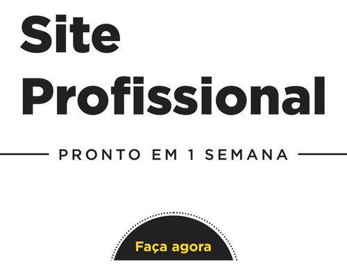 Site Profissional Em 1 Semana - Criação Completa