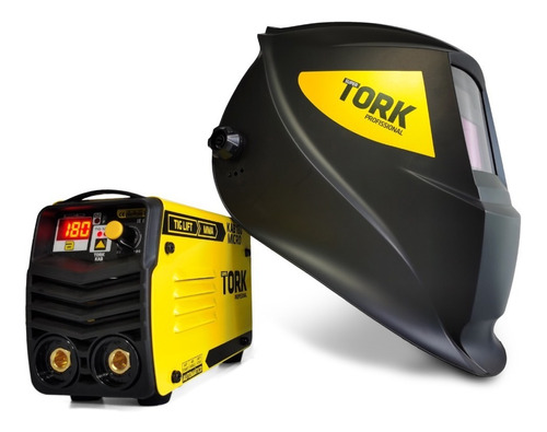 Inversora Solda Kab 180 Micro Mma Tig + Mascara Automatica
