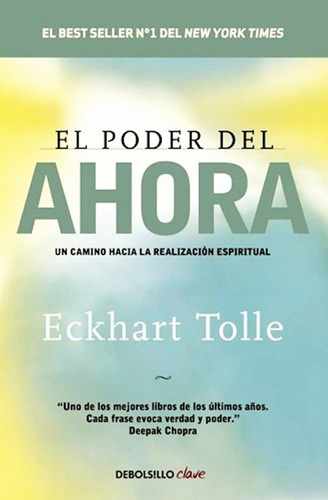 El Poder Del Ahora Eckhart Tolle - Libro Nuevo Envio Rapido