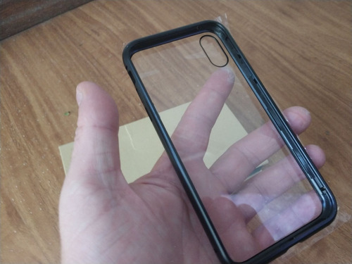 Funda Magnética  Vidrio Metal iPhone X