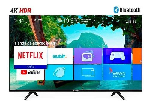 Tv 58  Smart Led Panavox Quad Core 4k Hdr Usb Hdmi Wifi Bt