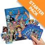 Álbum One Piece Com 40 Figurinhas E 10 Cards = 10 Envelopes