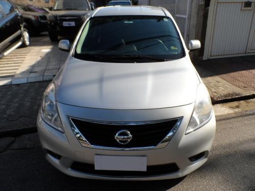 Nissan Versa Sl 1.6 2013, Único Dono, Excelente Estado.