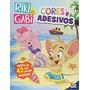 Livro Riki & Gabi Cores E Adesivos Todolivro