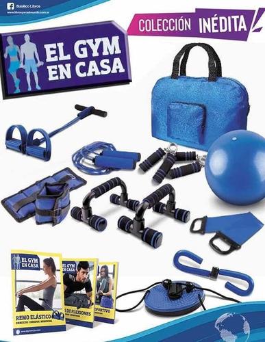 Clarín Colección Gym En Casa - 10 Accesorios - Envio Gratis