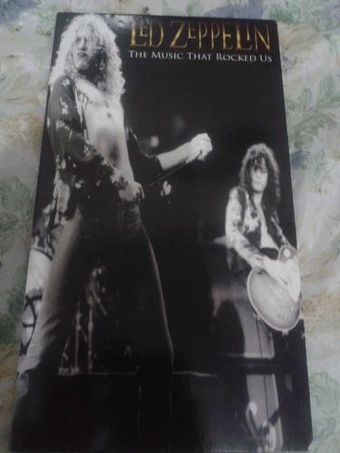 Cd Bootleg Led Zeppelin The Music That Rocked Us 4 Cd
