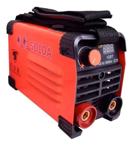 Máquina Inversora De Solda Portátil Usk Mini Mma-225 220v