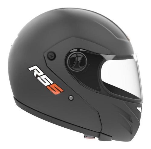 Casco Para Moto Integral Hawk Rs5 Negro Matesolid Talle L
