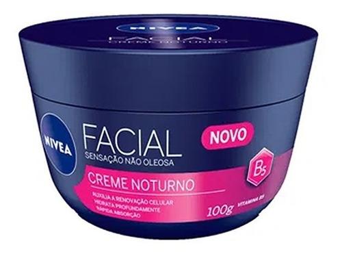 Creme Facial Nivea Anti-idade Noturno 100g - Atacado