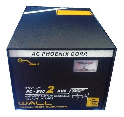 Regulador Elevador De Voltaje  2 Kva Estabilizador 75 -130 V