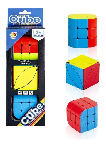 Kit Cubo Mágico 3x3x3 Profissional