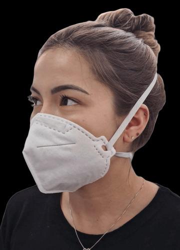 Máscara N95/pff2 Elástico Cabeça Caithec - Kit C/10 Unidades