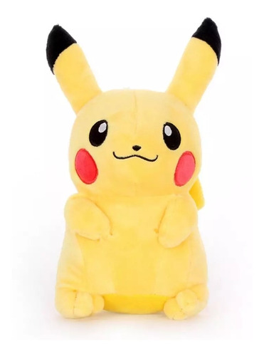Peluche Pikachu Pokemon 22 Cm.
