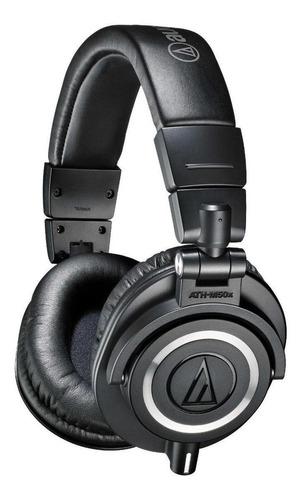 Fone De Ouvido Audio-technica M-series Ath-m50x Black