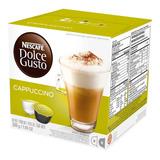 Capsulas Dolce Gusto Nescafe Cappuccino 200g X16 Unid