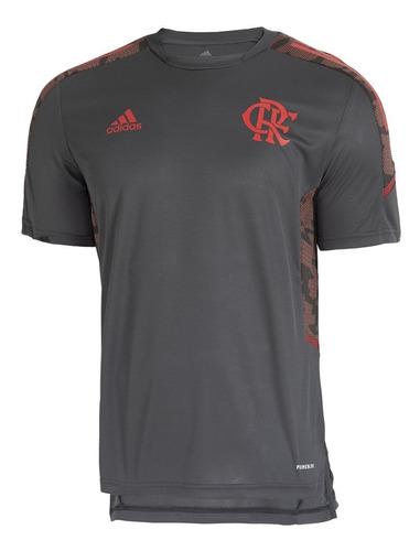 Camisa Flamengo Treino Cinza adidas 2021