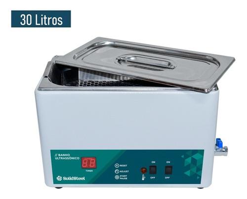 Cuba Ultrassônica Digital 30 Litros - Solidsteel