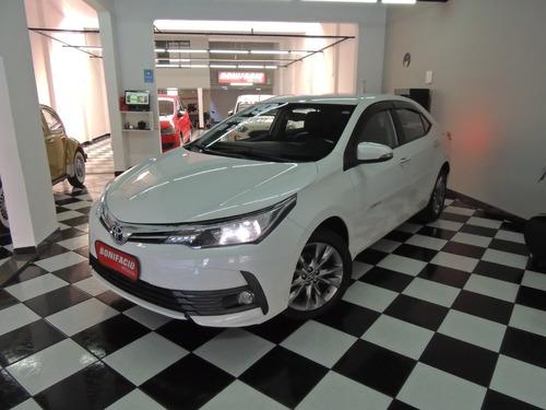 Corolla Xei 2.0 Automático Branco Pérola + Couro