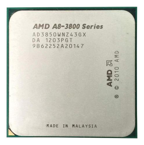 Procesador Amd A8-3850 Ad3850wnz43gx De 4 Núcleos Y 2.9ghz De Frecuencia Con Gráfica Integrada