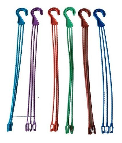 Ganchos Para Macetas Plasticas X 100 Unidades