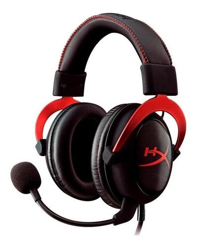 Audífonos Gamer Hyperx Cloud Ii Black Y Red